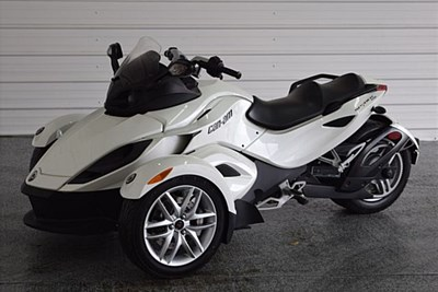 Used 2014 Can-Am Spyder RS-S SE5