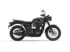 New 2018 Triumph Bonneville T120 Cranberry Red and Aluminium Silver