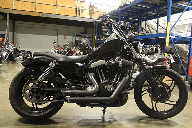Photo of a 2008 Harley-Davidson® XL1200N Sportster® 1200 Nightster®