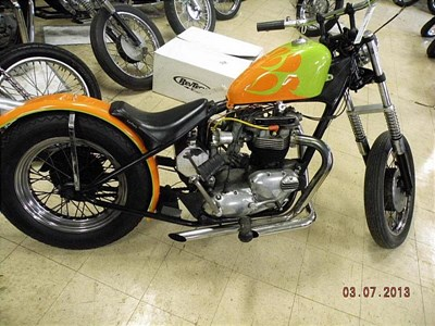 Used 1967 Triumph Bonneville 650 (US)