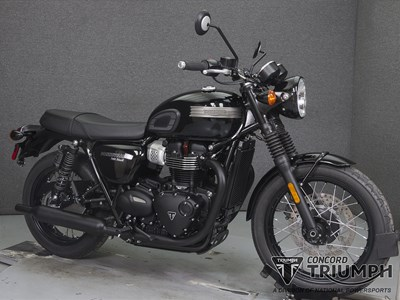 Used 2018 Triumph BONNEVILLE T100 BLACK