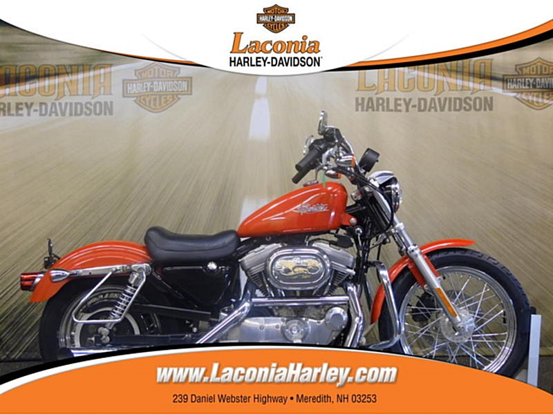 Photo of a 2002 Harley-Davidson® XL883H Sportster® 883 Hugger®