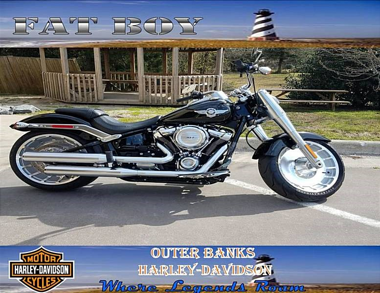 Photo of a 2018 Harley-Davidson® FLFB Softail® Fat Boy®