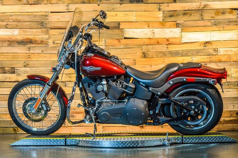 2008 Harley-Davidson® FXSTB Softail® Night Train® (CRIMSON ...