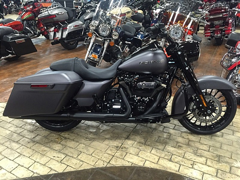 Blacked Out Street Glide >> 2017 Harley-Davidson® FLHRXS Road King® Special (Charcoal Denim), Marion, Illinois (704600 ...