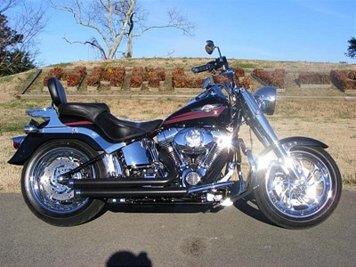 Used 2007 Harley-Davidson® Softail® Fat Boy® Firefighter/Peace Officer