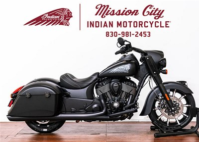New 2019 Indian® Springfield® Dark Horse®