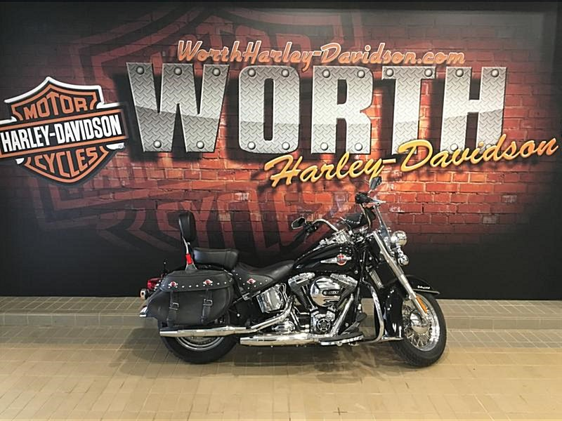 Photo of a 2017 Harley-Davidson® FLSTC Heritage Softail® Classic