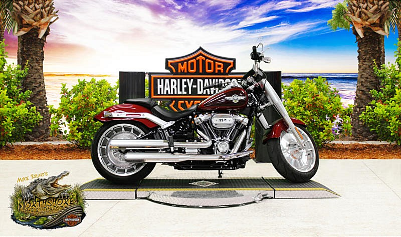 Photo of a 2018 Harley-Davidson® FLFBS Softail® Fat Boy® 114