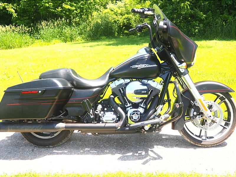 2016 Harley Davidson Flhxs Street Glide Special Flat Black