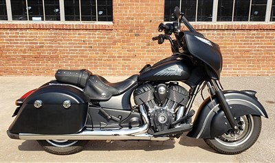 Used 2016 Indian® Chieftain Dark Horse®