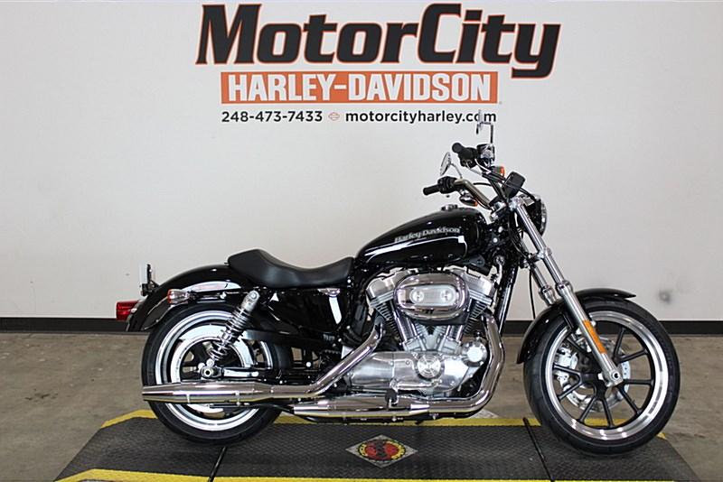 2017 Harley Davidson Xl883l Sportster Superlow Vivid