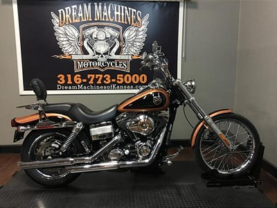 Used 2008 Harley-Davidson® Dyna® Wide Glide® Anniversary
