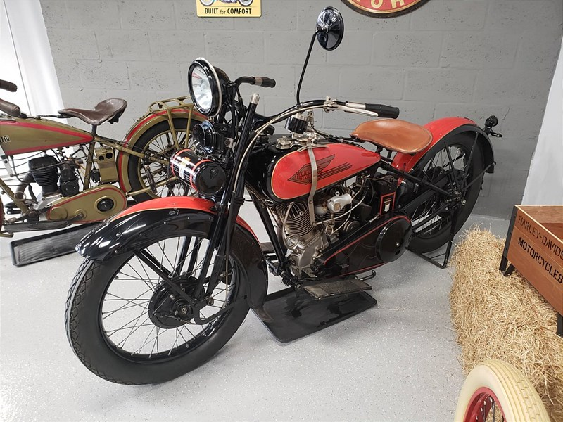 Photo of a 1927 Harley-Davidson® J Solo