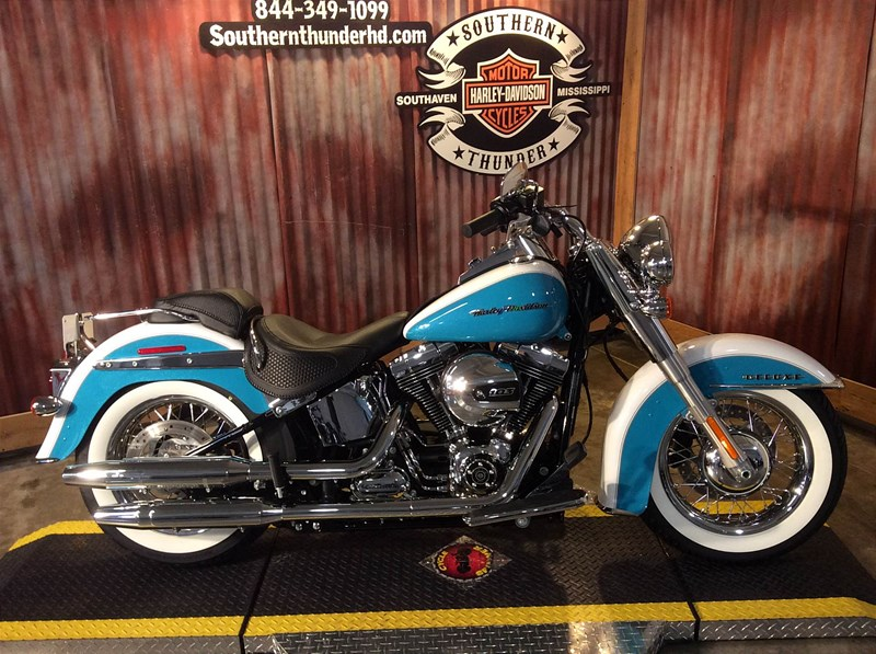 2017 harley davidson flstn softail deluxe crushed ice pearl frosted teal pearl southaven. Black Bedroom Furniture Sets. Home Design Ideas