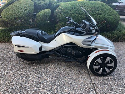 Used 2017 Can-Am Spyder F3-T