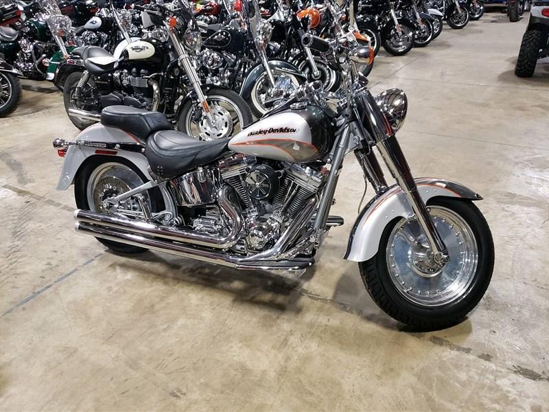 Photo of a 2005 Harley-Davidson® FLSTFSE Screamin' Eagle® Fat Boy®